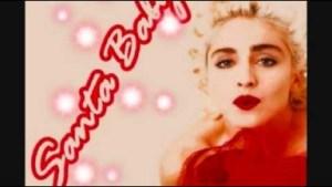 "Video: Madonna — ""Santa Baby"""